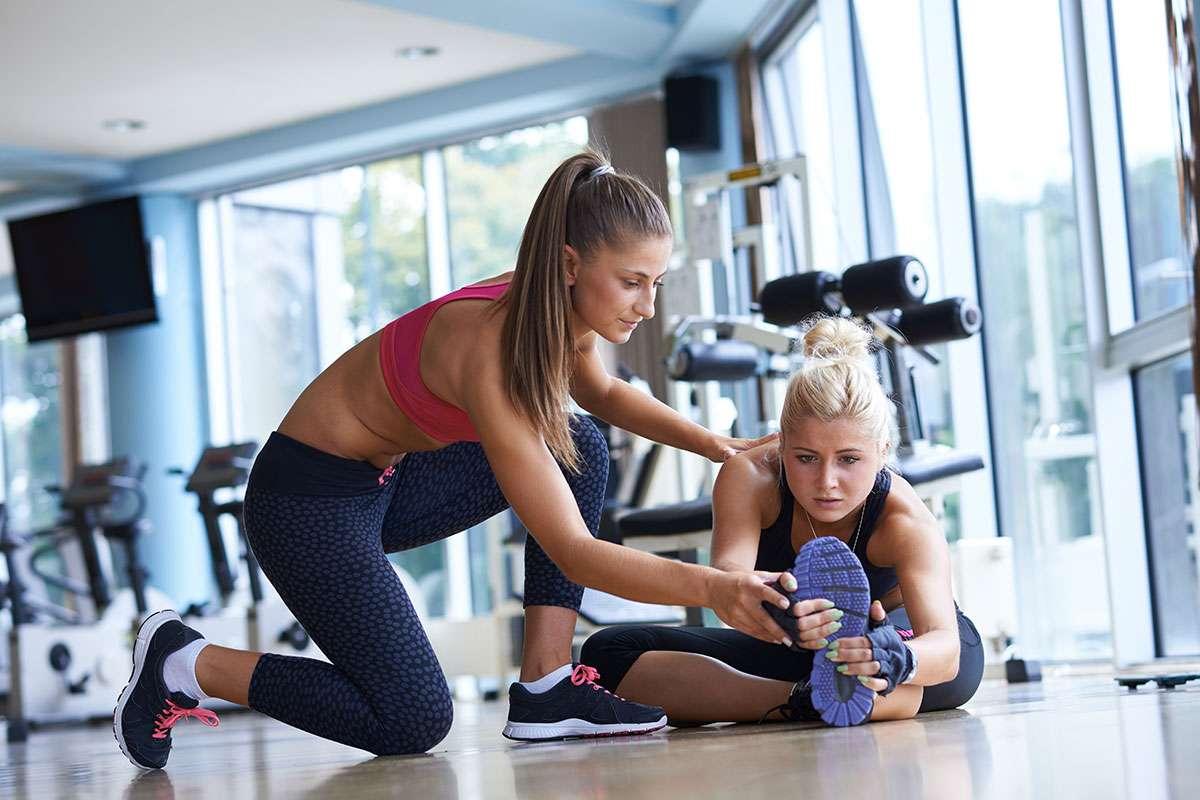 услуги фитнес тренера