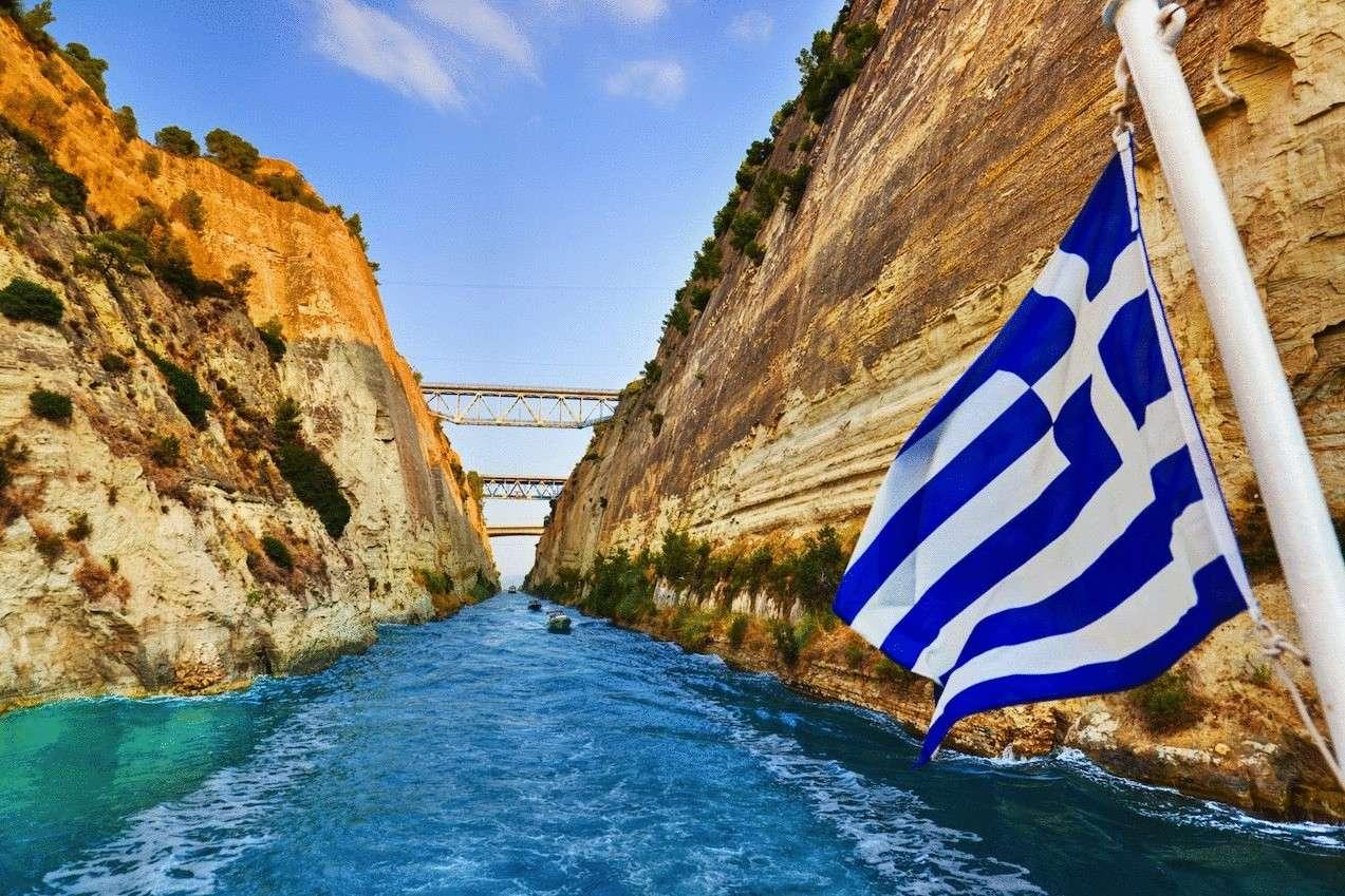 экскурсии по каналу Коринф, Греция