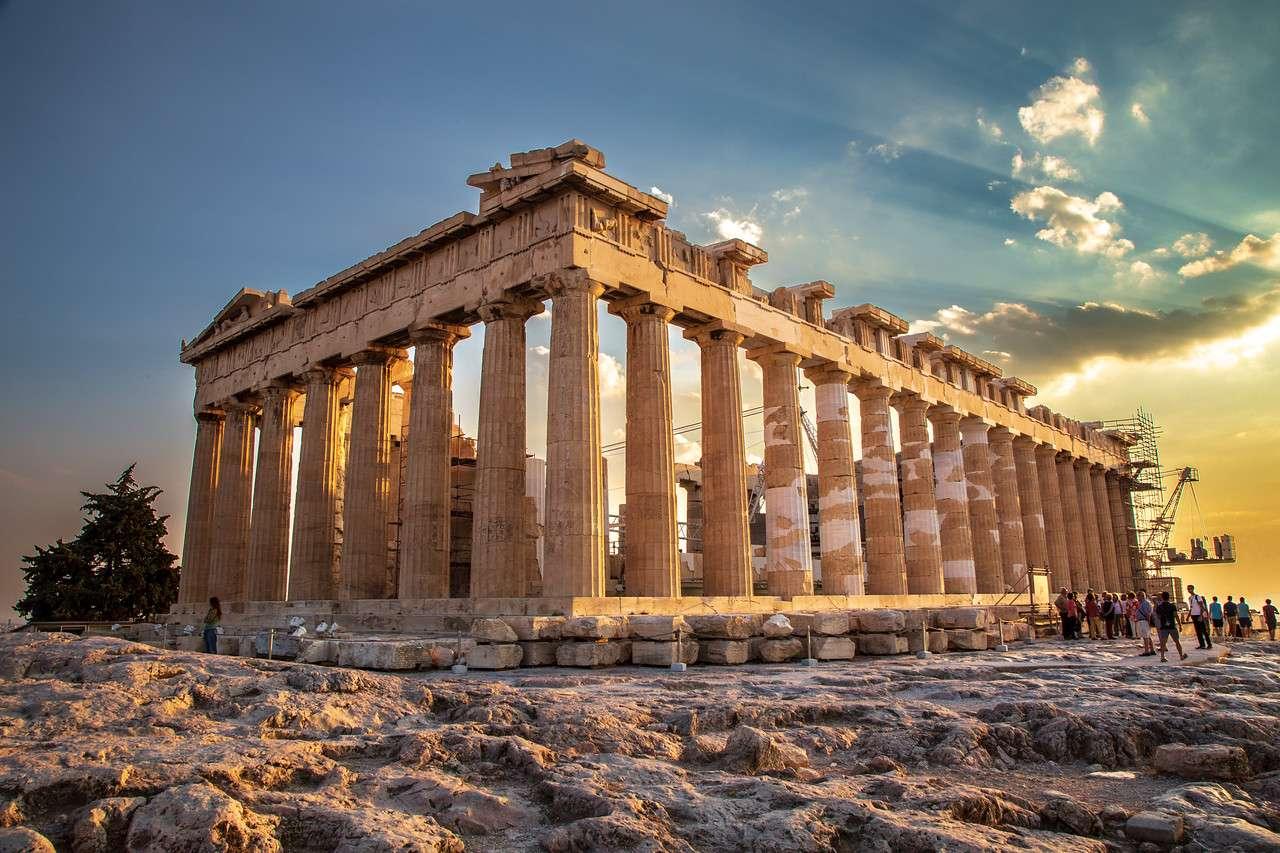 экскурсии в Парфенон Греция