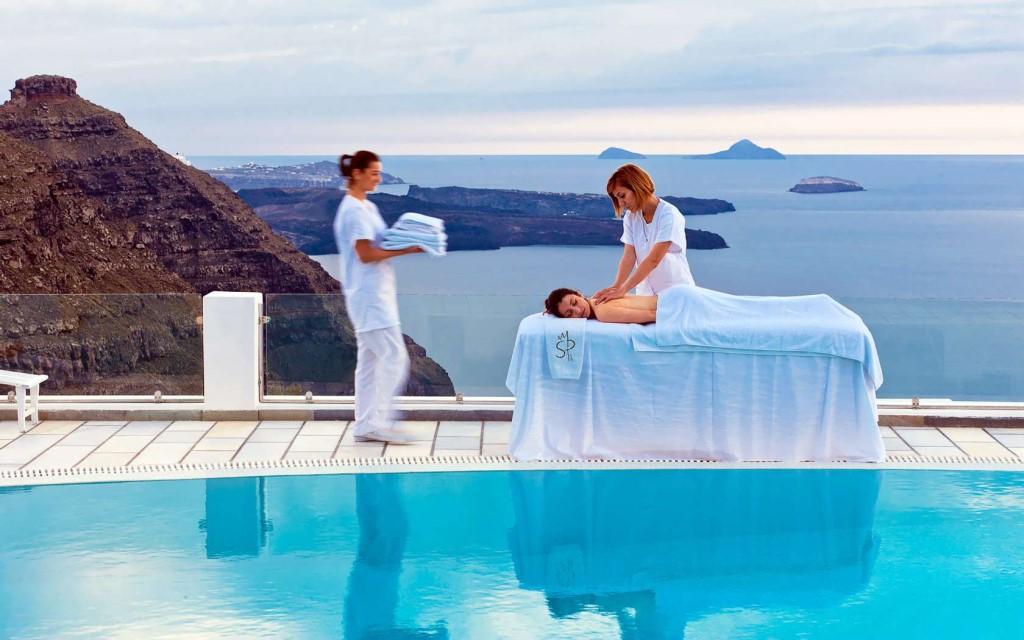услуги массажа в Греции