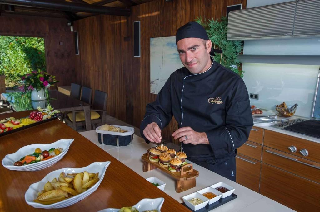 личный повар в Греции