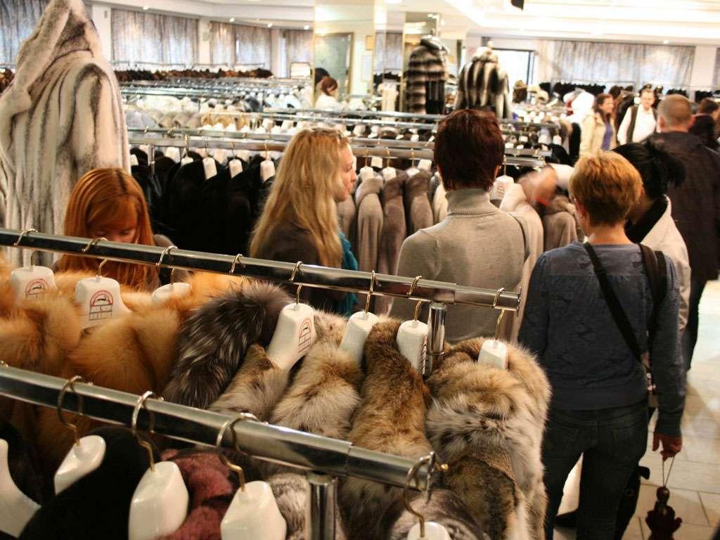 организация шоппинга шубы
