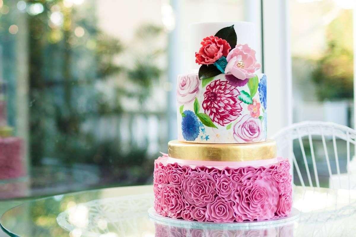 свадебный торт в Греции